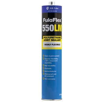 H.B. Fuller FulaFlex 550LM PU Joint Silicone Sealant 310ml