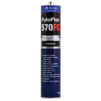 H.B. Fuller FulaFlex 570FC PU Silicone White 310ml