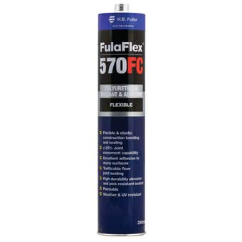 H.B. Fuller FulaFlex 570FC PU Silicone Grey 310ml
