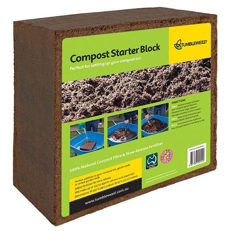 Tumbleweed Compost Starter Block