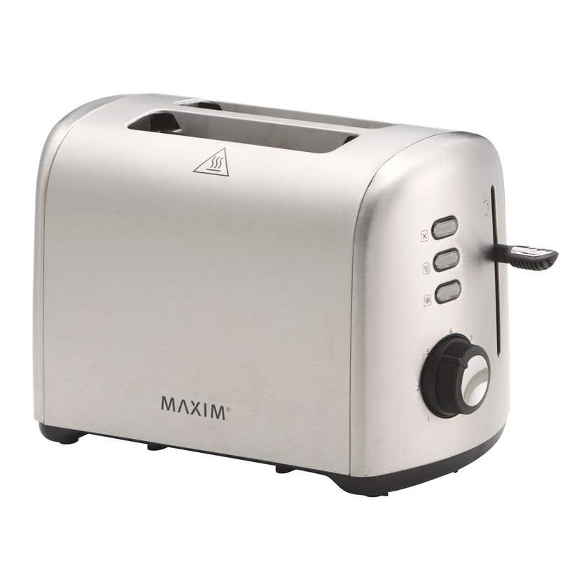 Maxim 2 Slice Toaster Stainless Steel