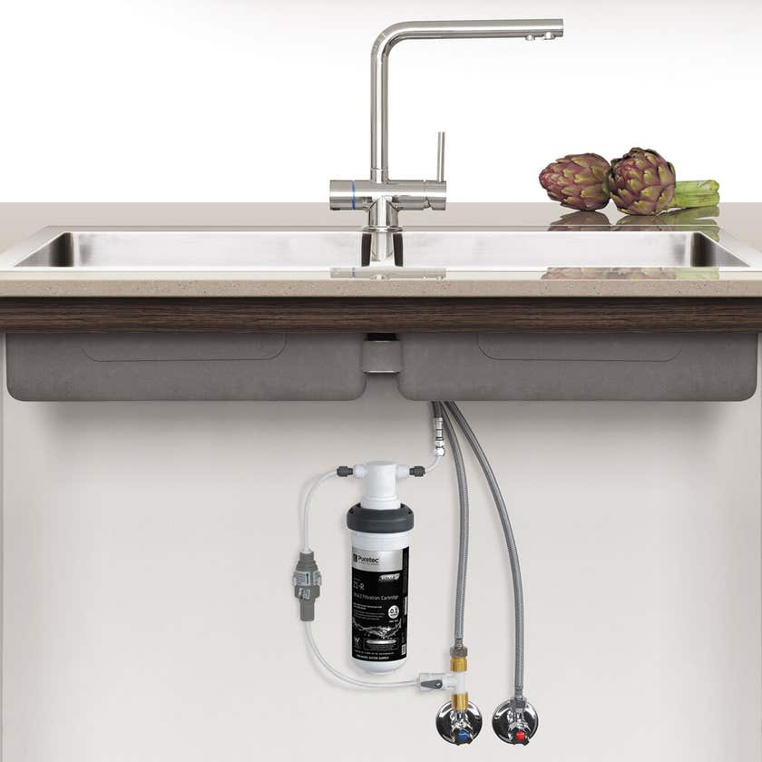 Puretec Water Filter System with Tripla T6 Tap