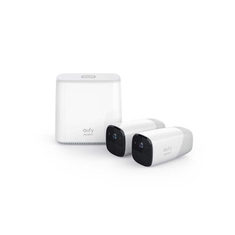 Eufy Wire-Free HD Security Camera with Home Base Kit - 2 Cameras