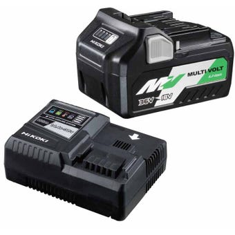 HiKOKI Multi Volt Lithium-Ion Battery Kit - 2 Piece