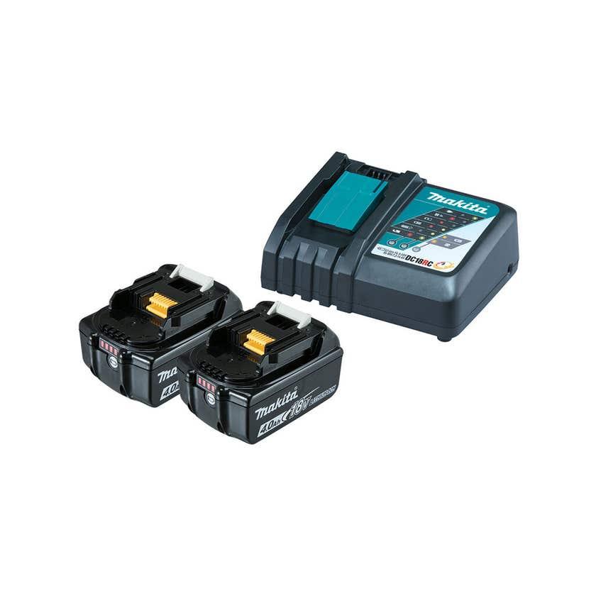 Makita 18V 4.0Ah Battery and Charger Kit
