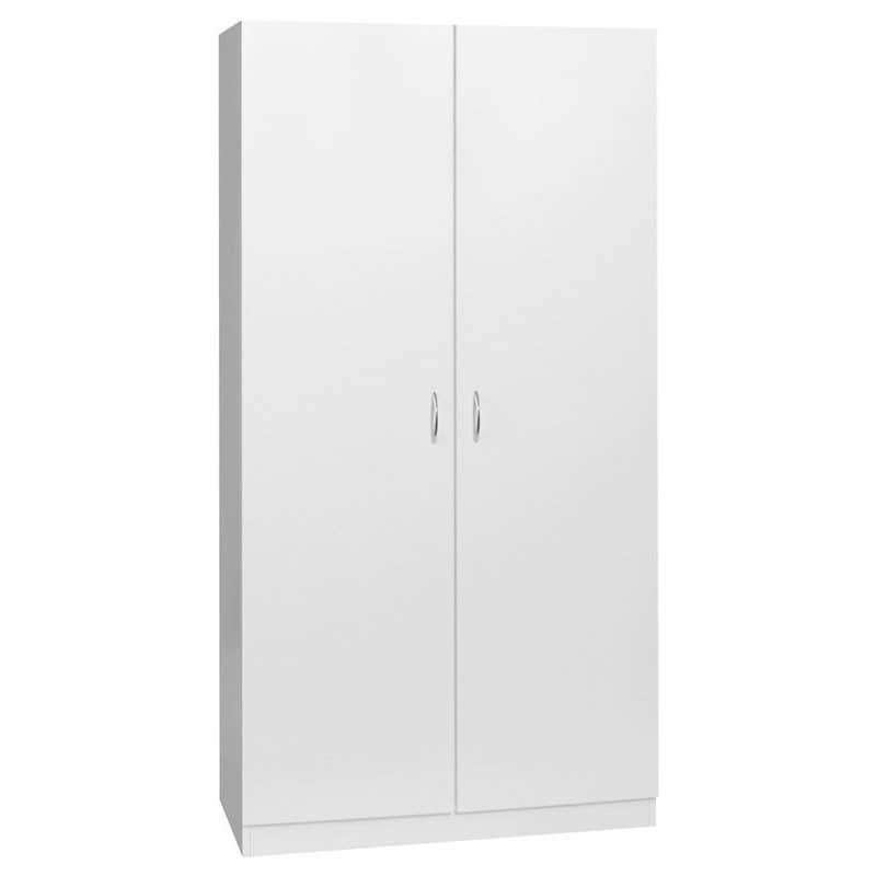 Faulkner 2 Door 3 Shelf Wardrobe Unit 800mm
