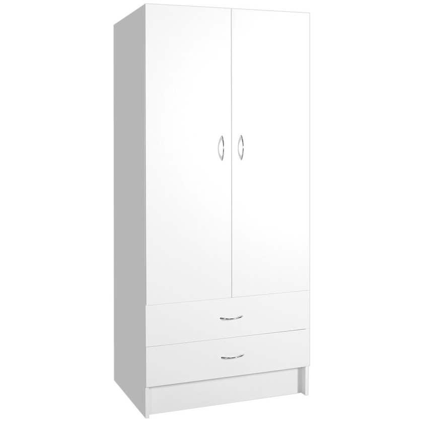 Faulkner™ 2 Door 2 Drawer Wardrobe Unit 800mm