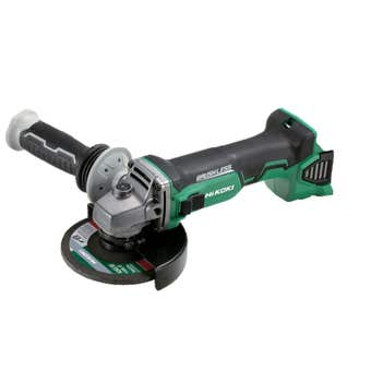HiKOKI 18V Brushless 125mm Angle Grinder with Slide Switch Skin