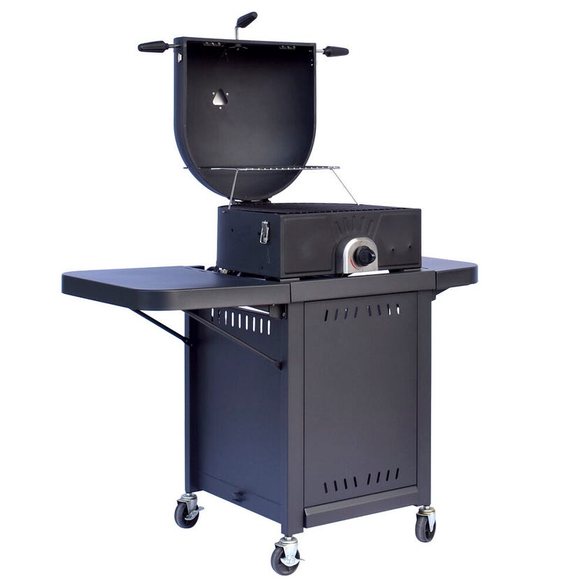 Grilled Combo Gas Pizza Oven BBQ
