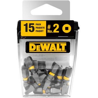 DeWALT Max Impact Drill Bit SQ2 25mm - 15 Pack