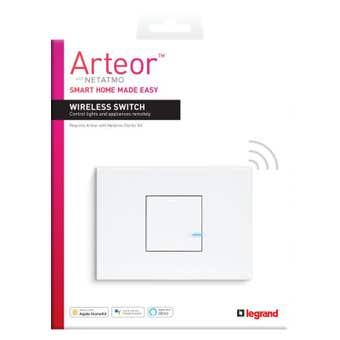 Legrand Arteor Smart Wireless Master Switch 1 Gang Horizontal