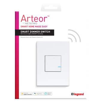 Legrand Arteor Smart Wireless Dimmer Switch Vertical