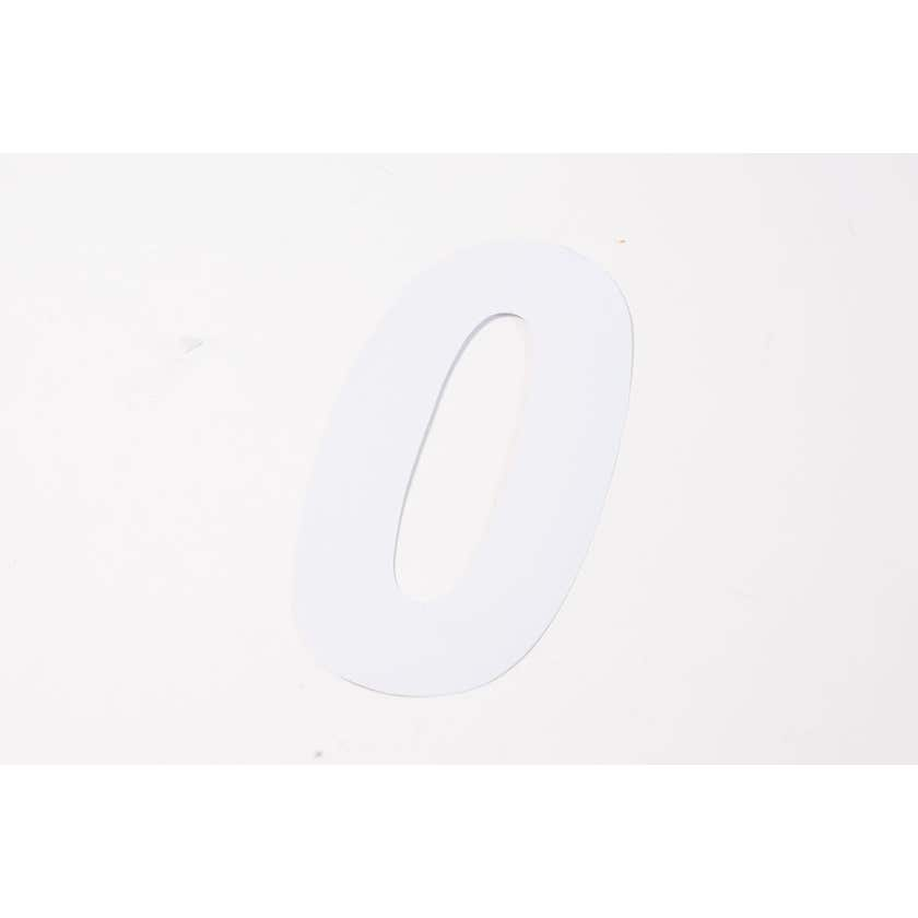Sandleford Wheelie Bin Number 0 White 170mm - 2 Pack