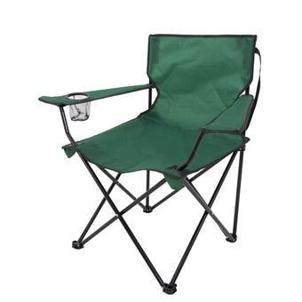 Folding Camp Chair Green