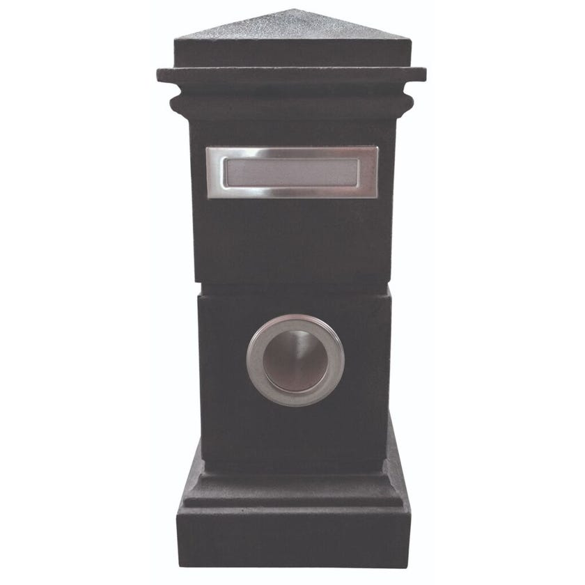 Outdoor Inspirations Letterbox Clyde Black