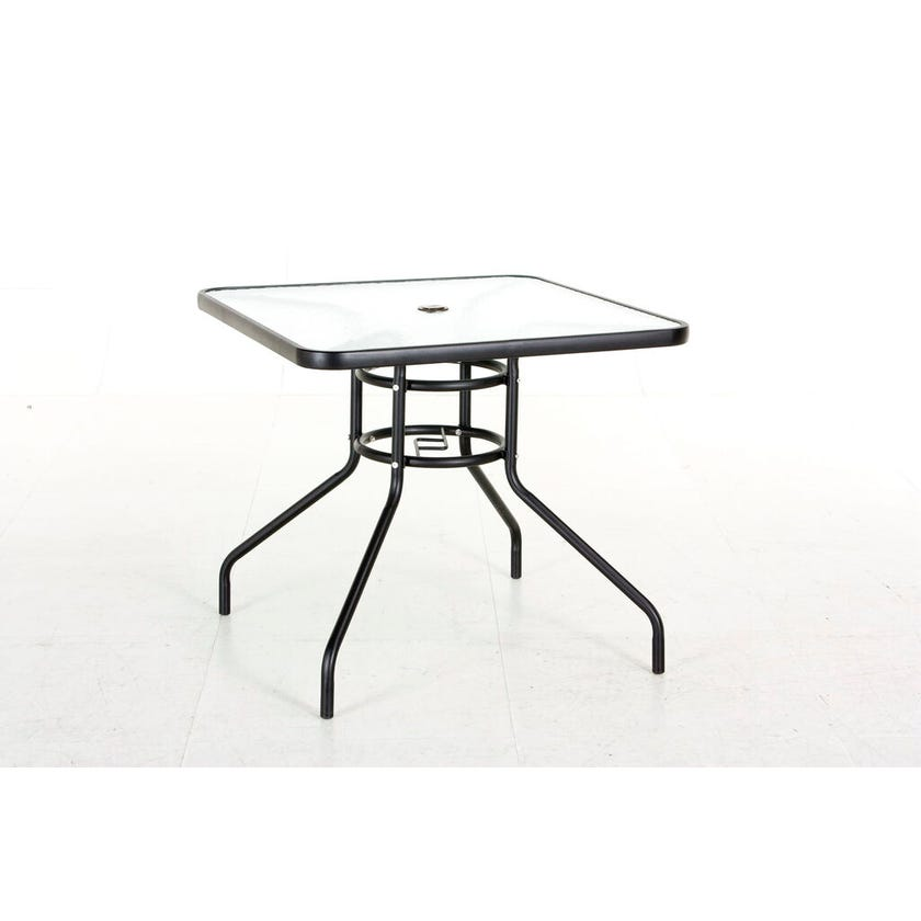 Ballan 4 Seater Steel Café Setting