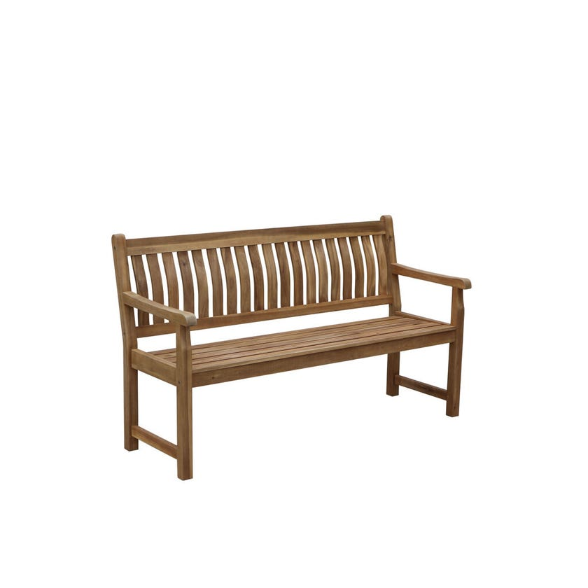 Rosemore Curve Back Timber Bench