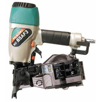 HiKOKI 65mm Wire & Plastic Collated Coil Nailer