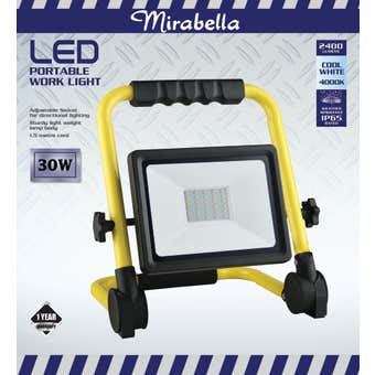 Mirabella Portable LED Work Light 30W