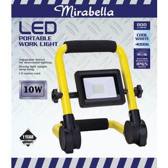 Mirabella Portable LED Work Light 10W