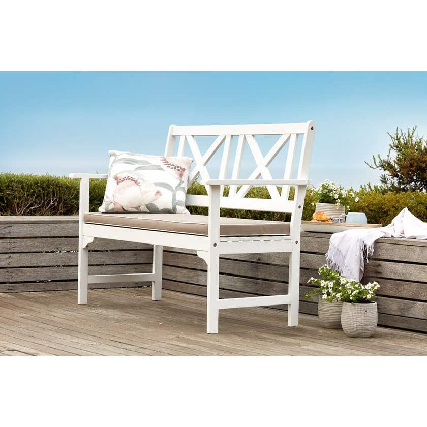 Hamptons Timber Bench