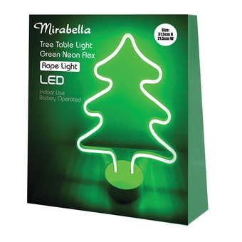 Mirabella Neon Tree LED Flex Light 30cm