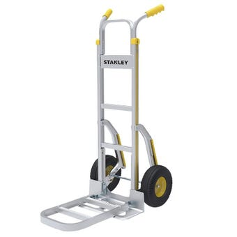 Stanley Hand Trolley With Large Folding Platform 200kg