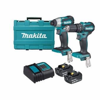 Makita 18V 3.0Ah Brushless Combo Kit - 2 Piece DLX2221S