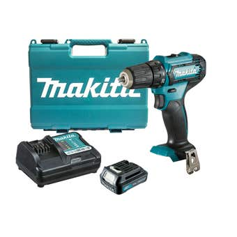 """Makita 12V 1.5Ah 3/8"""" Driver Drill with Case DF333DWY"""