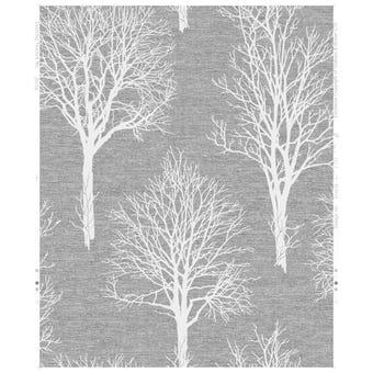 Boutique Wallpaper Landscape Charcoal 10m x 520mm