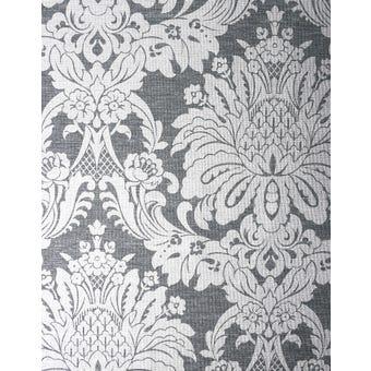 Boutique Wallpaper Vogue Charcoal 10m x 520mm