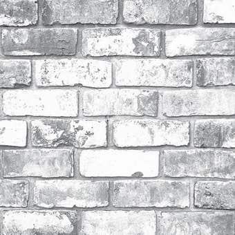 Superfresco Easy Wallpaper White Brick 10m x 520mm