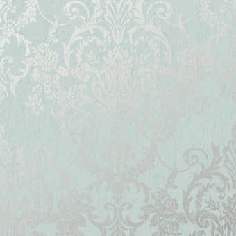 Superfresco Easy Wallpaper Victorian Damask Duck Egg 10m x 520mm
