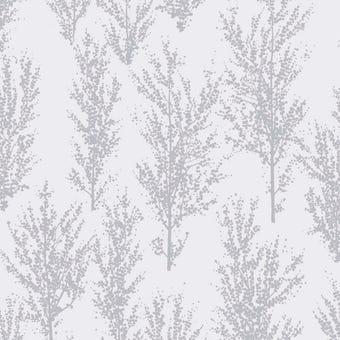 Superfresco Easy Wallpaper Katsura Silver 10m x 520mm