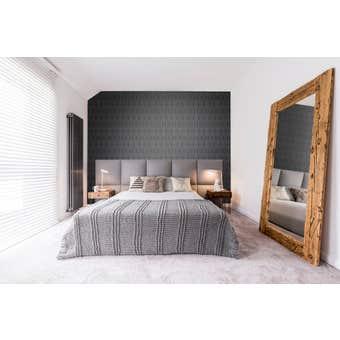 Superfresco Easy Wallpaper Albany Black 10m x 520mm