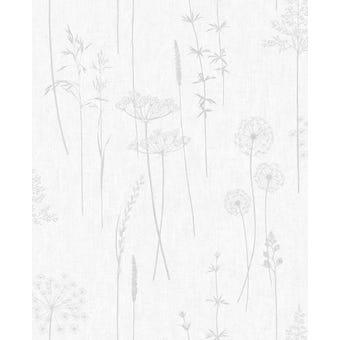 Superfresco Easy Wallpaper Meadow Silver 10m x 520mm