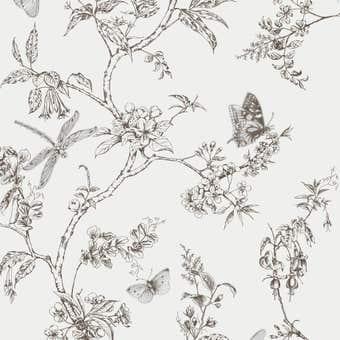 Superfresco Easy Wallpaper Nature Trail White Mica 10m x 520mm