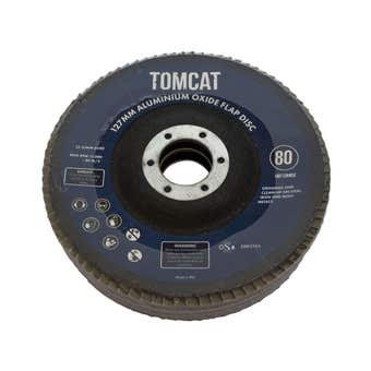 Tomcat Aluminium Oxide Flap Disc 127mm 3PK