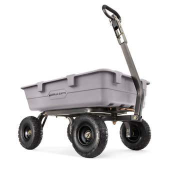 Gorilla Carts Poly Yard Cart 360kg