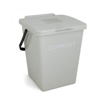 Tumbleweed Compost Organi-Bin Antique White 21x24x27cm