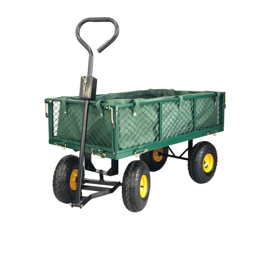 Garden Cart Steel Mesh with liner 350kg