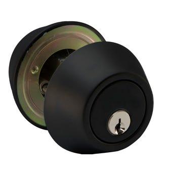 Buy Right Double Cylinder Deadbolt Black