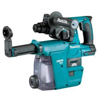 Makita 18V Brushless 24mm SDS Plus Rotary Hammer Skin DHR242ZJW