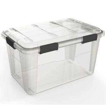 Ezy Waterproof Storage Box 50L