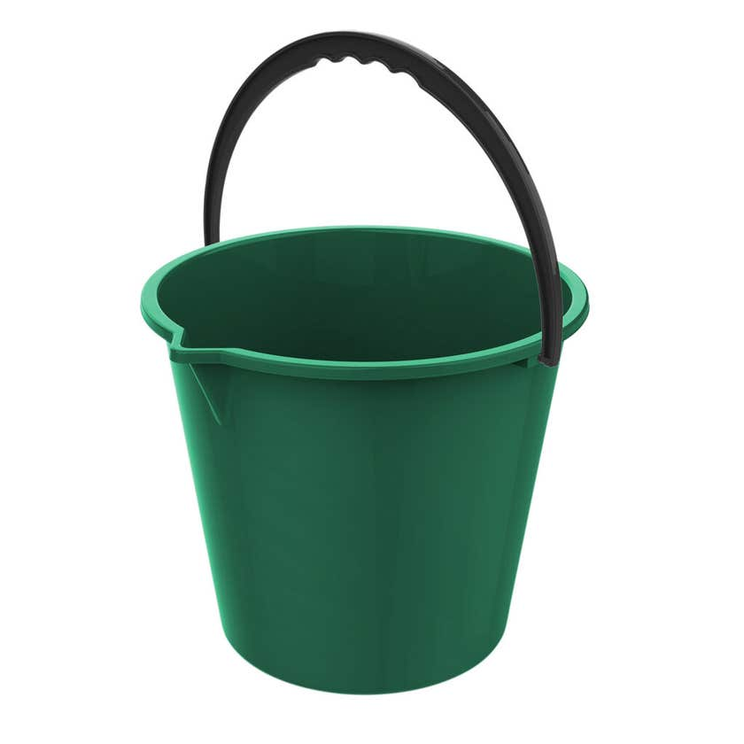 Buy Right Plastic Bucket with Spout Assorted Colours 10L