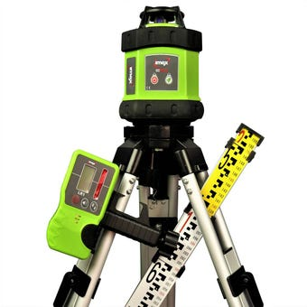 Imex Rotary Laser Kit including Tripod & Staff