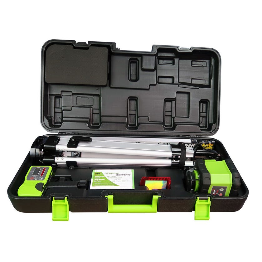 Imex Rotary Laser Kit including Tripod & Staff