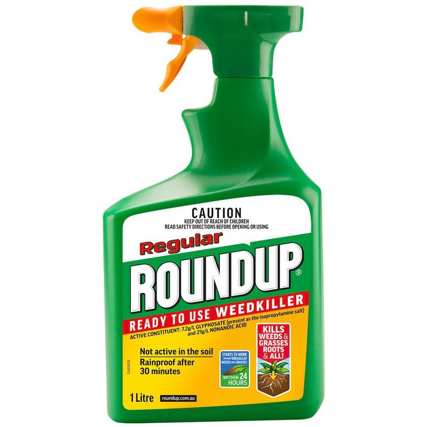 Roundup Regular Weed Killer Spray 1L