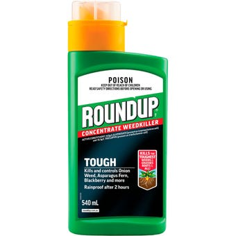 Roundup Tough Concentrated Weed Killer 540ml