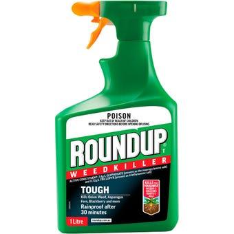 Roundup Tough Weed Killer RTU 1L